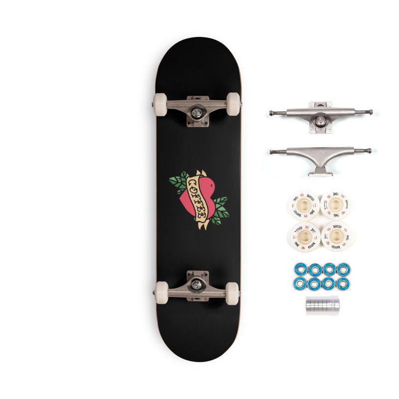 Hardcore Coffee Accessories Complete - Premium Skateboard by Ninth Street Design's Artist Shop
