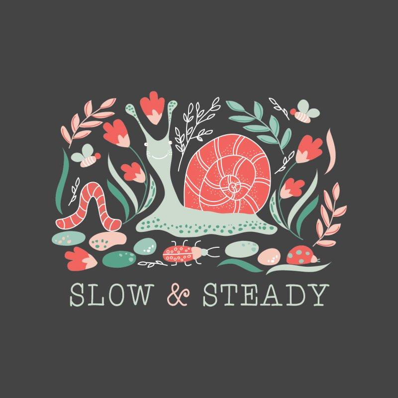 Slow & Steady Men's T-Shirt by Ninth Street Design's Artist Shop