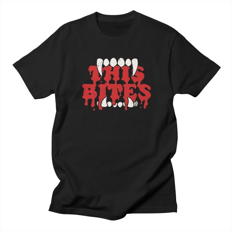 This bites Men's T-Shirt by Ninth Street Design's Artist Shop