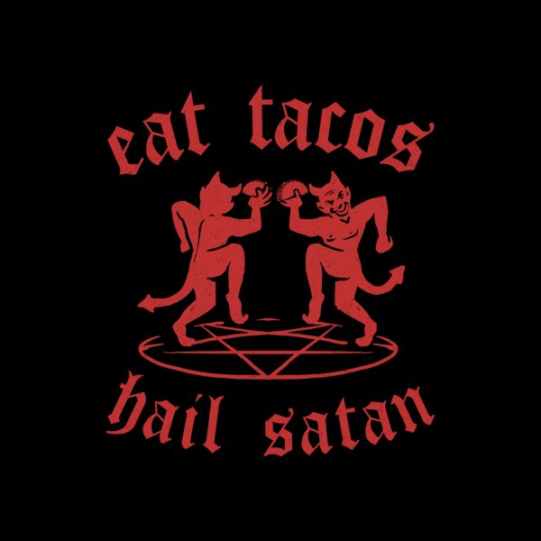 Design for Satanic Tacos