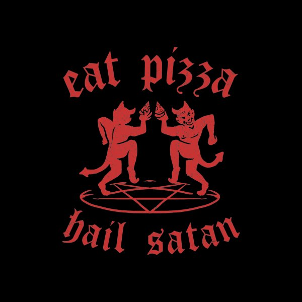 Design for Satanic Pizza