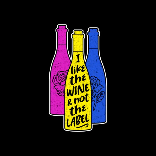 Design for I like the wine & not the label
