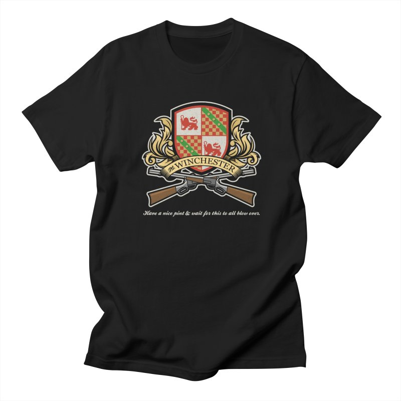 Have a nice pint at the Winchester Men's T-Shirt by Ninth Street Design's Artist Shop