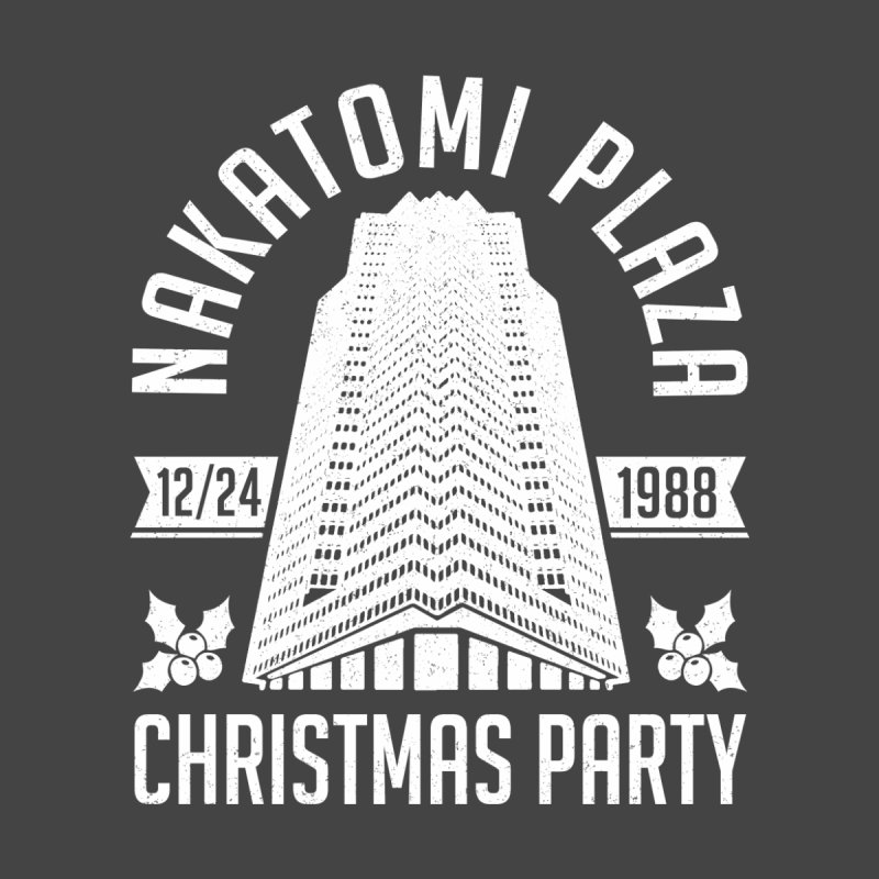 Nakatomi Christmas Party Men's T-Shirt by Ninth Street Design's Artist Shop