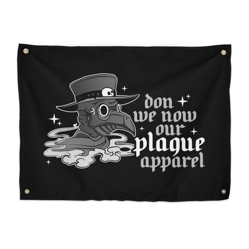 Don we now our plague apparel Home Tapestry by Ninth Street Design's Artist Shop
