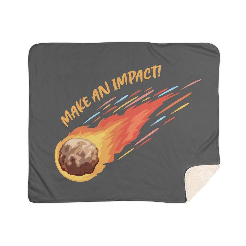 Make an impact! Home Blanket by Ninth Street Design's Artist Shop
