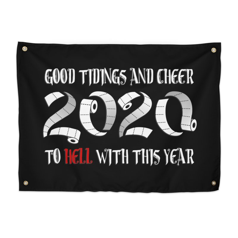 To hell with 2020 Home Tapestry by Ninth Street Design's Artist Shop