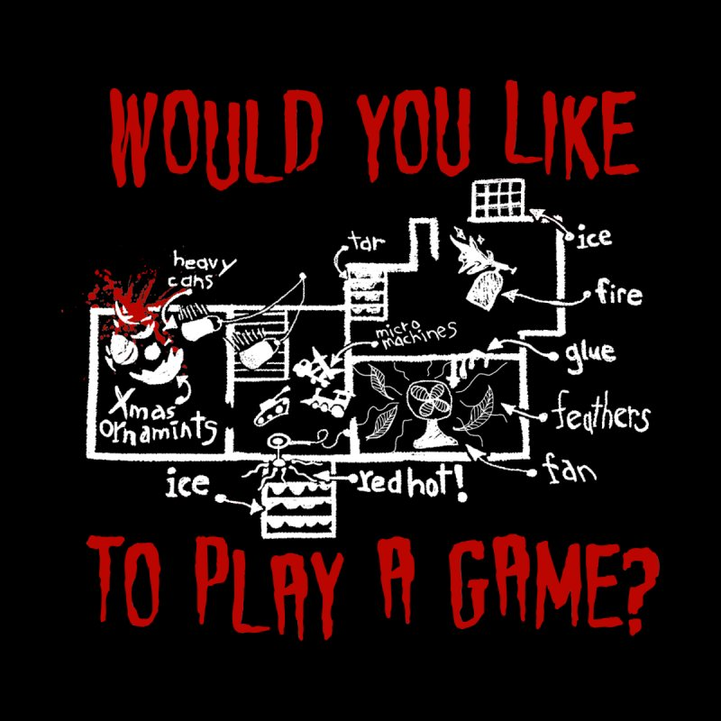 Would you like to play a game? Men's T-Shirt by Ninth Street Design's Artist Shop