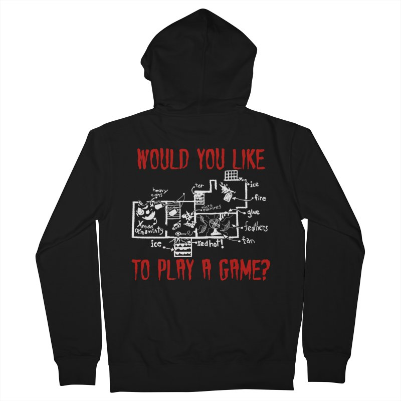 Would you like to play a game? Women's Zip-Up Hoody by Ninth Street Design's Artist Shop