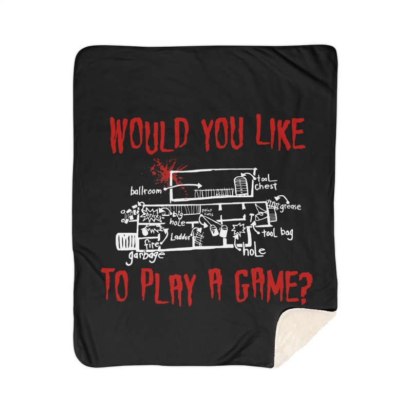 Would you like to play a game? Home Blanket by Ninth Street Design's Artist Shop