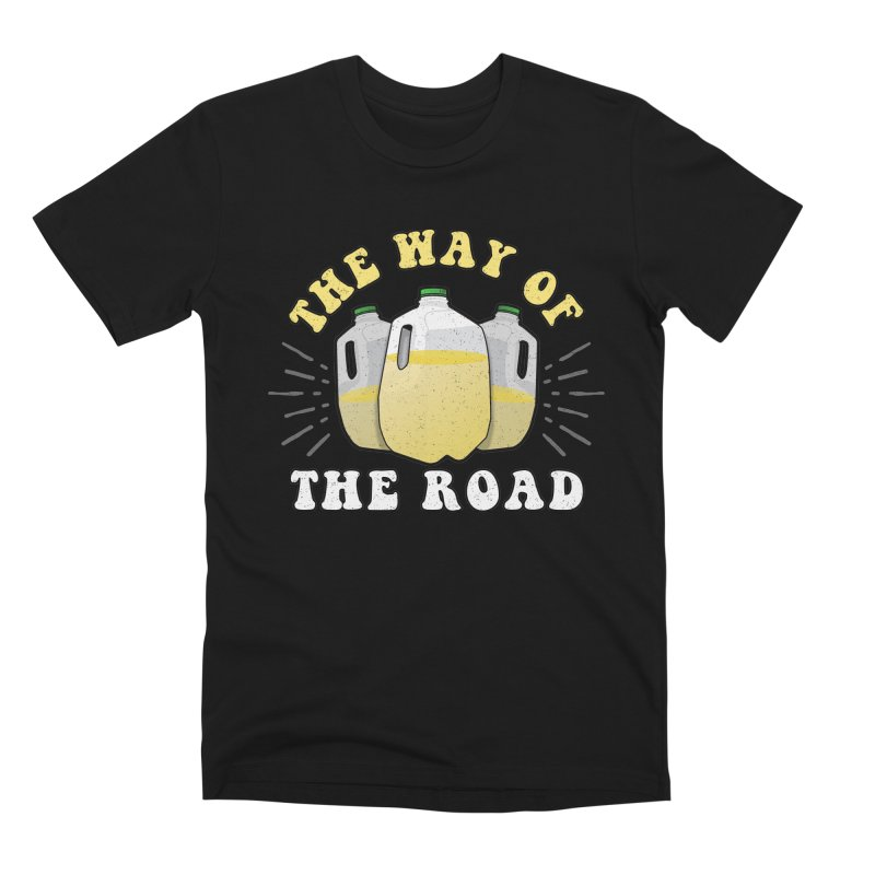 The Way of the Road Men's T-Shirt by Ninth Street Design's Artist Shop