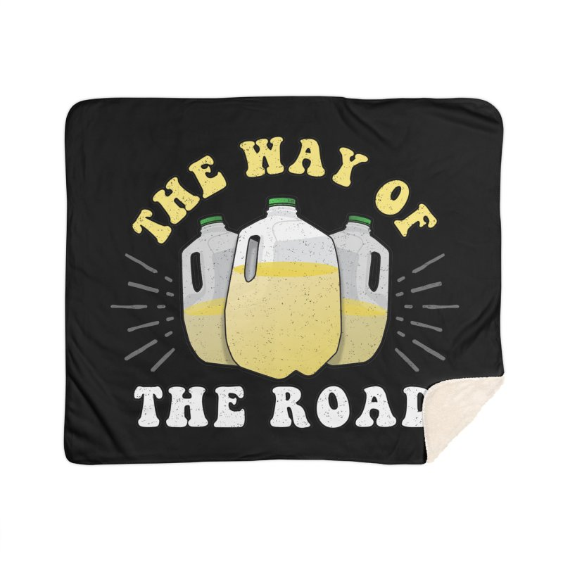 The Way of the Road Home Blanket by Ninth Street Design's Artist Shop