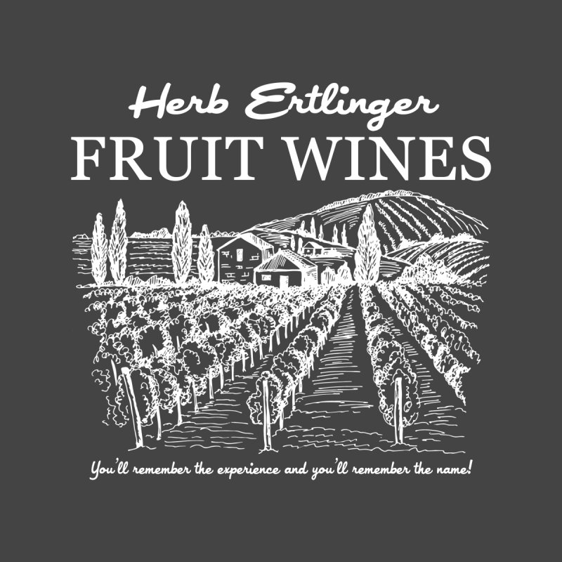 Herb Ertlinger Fruit Wines Accessories Face Mask by Ninth Street Design's Artist Shop