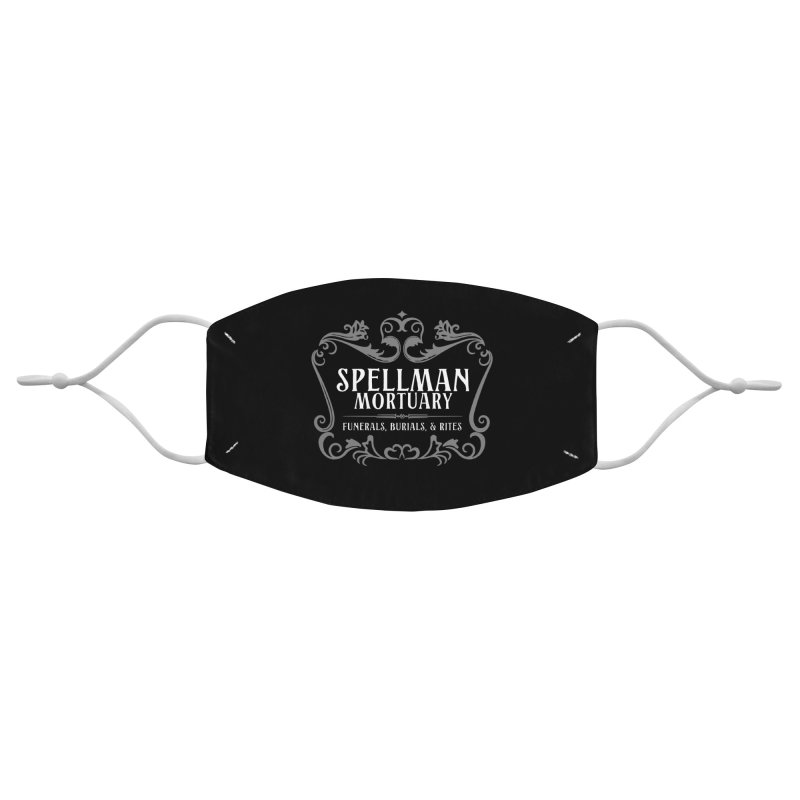 Spellman Mortuary Accessories Face Mask by Ninth Street Design's Artist Shop