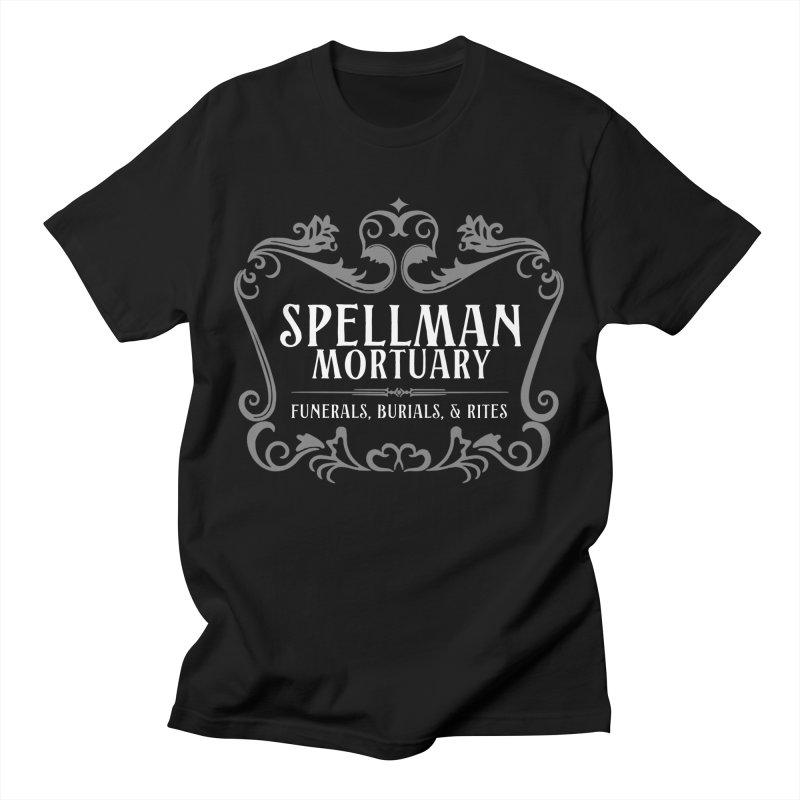 Spellman Mortuary Men's T-Shirt by Ninth Street Design's Artist Shop