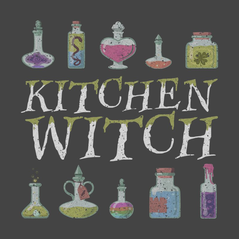 Kitchen Witch Kids Baby Bodysuit by Ninth Street Design's Artist Shop