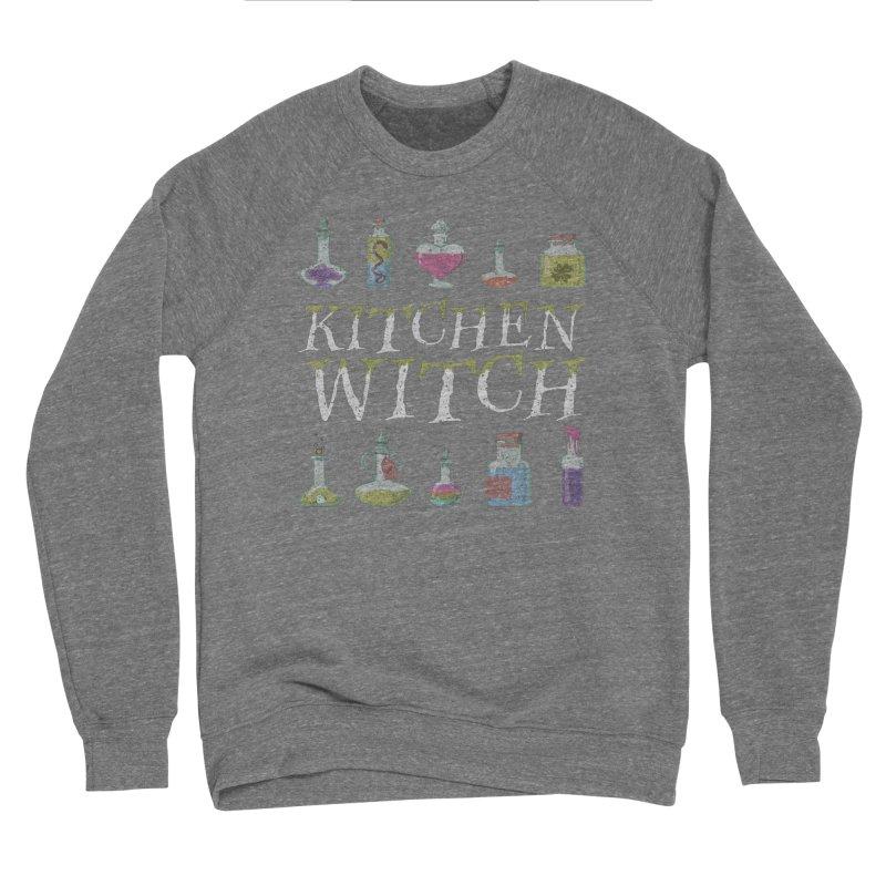 Kitchen Witch Men's Sweatshirt by Ninth Street Design's Artist Shop