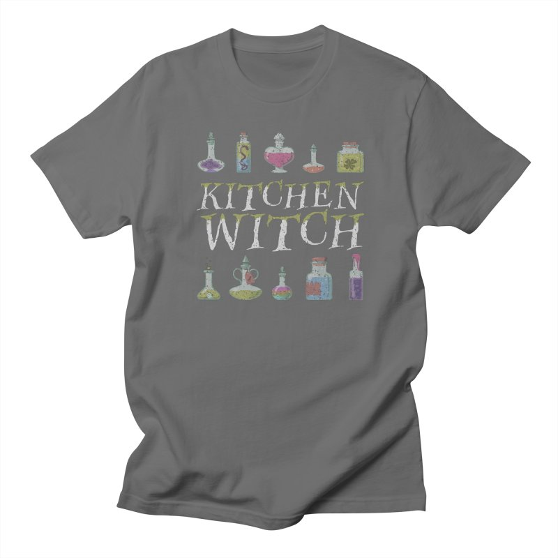 Kitchen Witch Men's T-Shirt by Ninth Street Design's Artist Shop