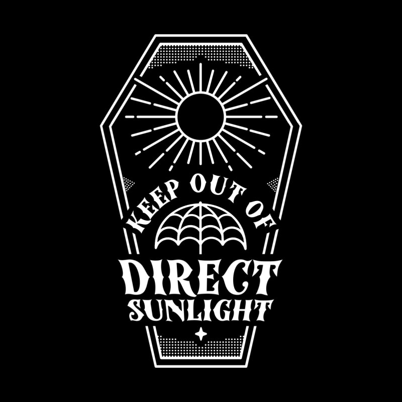 Keep out of direct sunlight Accessories Sticker by Ninth Street Design's Artist Shop