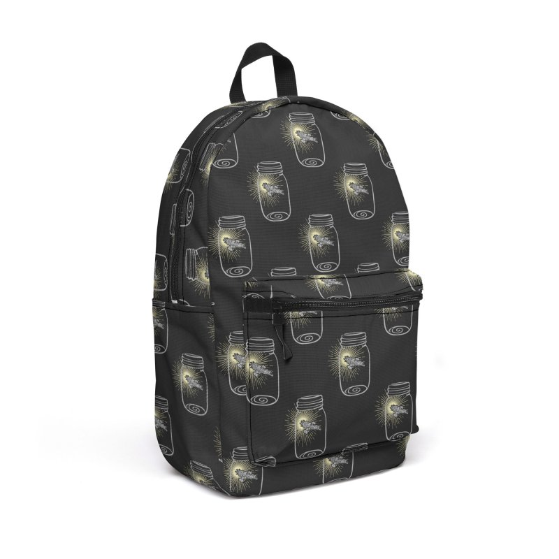 Firefly in a jar Accessories Backpack Bag by Ninth Street Design's Artist Shop