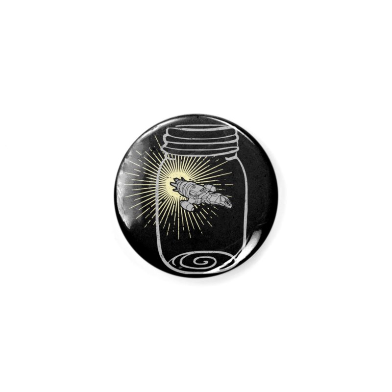 Firefly in a jar Accessories Button by Ninth Street Design's Artist Shop