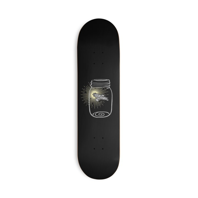 Firefly in a jar Accessories Deck Only Skateboard by Ninth Street Design's Artist Shop