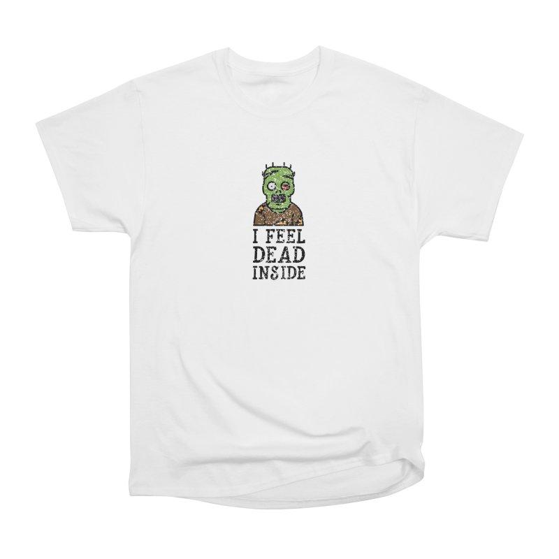 Dead inside Men's Classic T-Shirt by ninthstreetdesign's Artist Shop