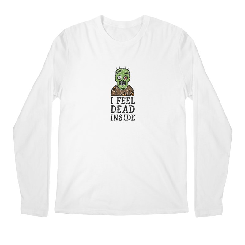 Dead inside Men's Longsleeve T-Shirt by ninthstreetdesign's Artist Shop