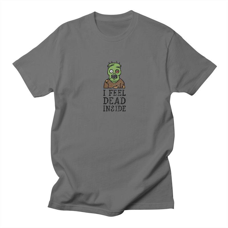 Dead inside Women's Unisex T-Shirt by ninthstreetdesign's Artist Shop