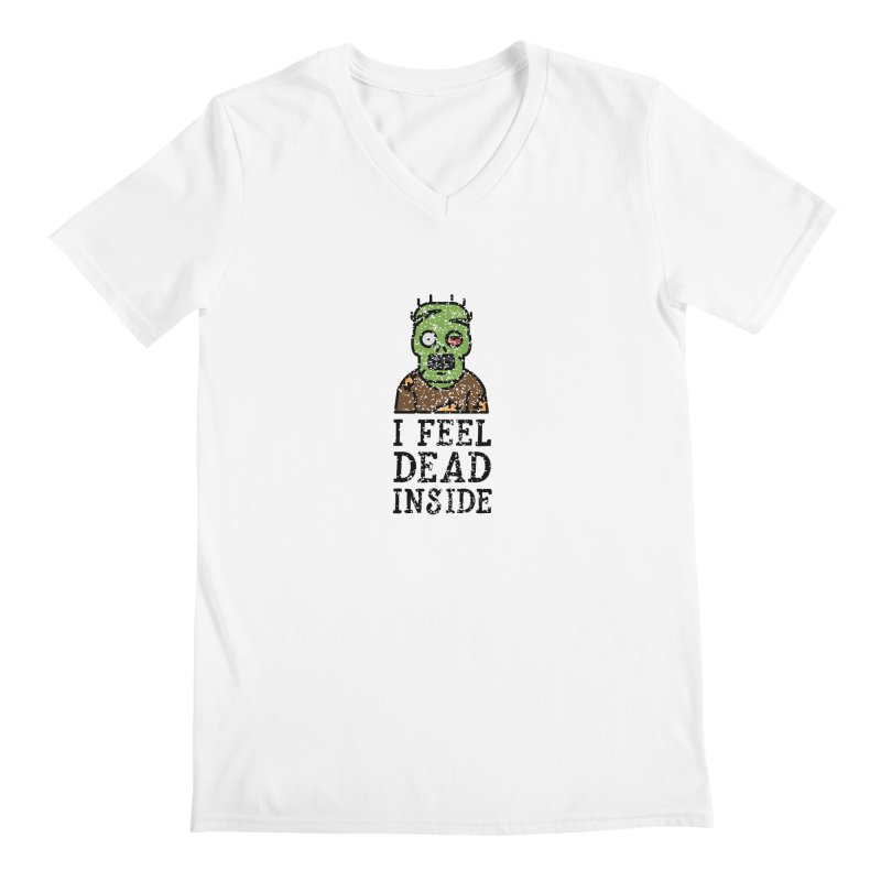 Dead inside Men's V-Neck by ninthstreetdesign's Artist Shop