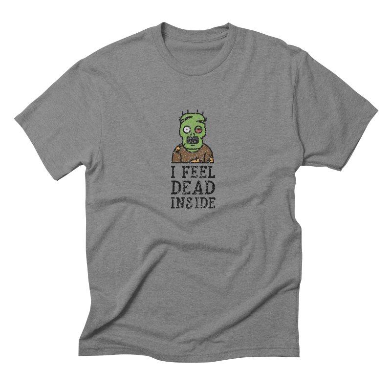 Dead inside Men's Triblend T-shirt by ninthstreetdesign's Artist Shop