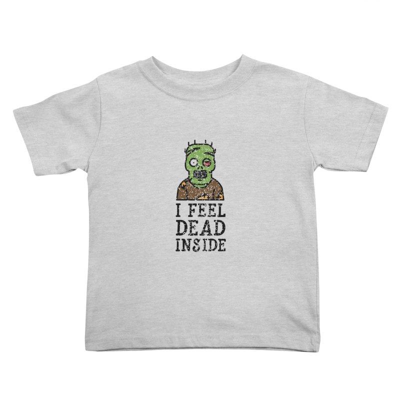 Dead inside Kids Toddler T-Shirt by ninthstreetdesign's Artist Shop