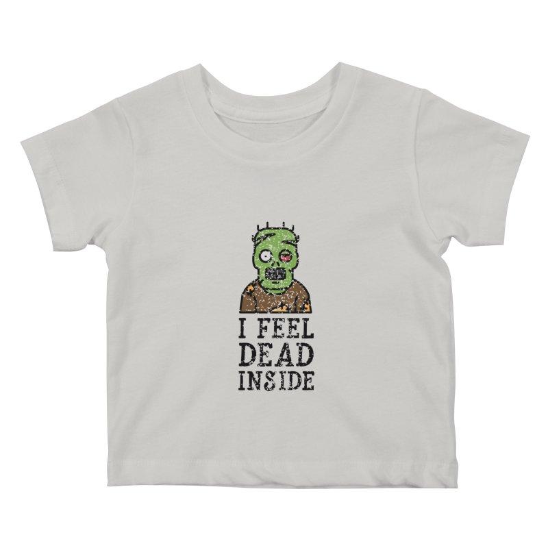 Dead inside Kids Baby T-Shirt by ninthstreetdesign's Artist Shop