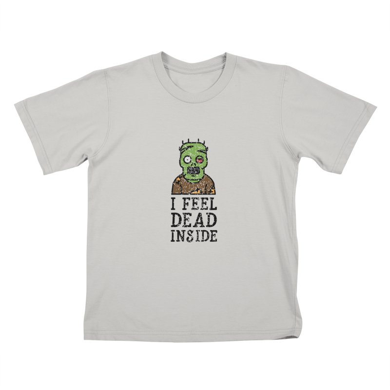Dead inside Kids T-shirt by ninthstreetdesign's Artist Shop