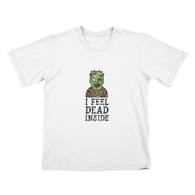 Dead inside Kids T-shirt by ninthstreetdesign's Artist Shop