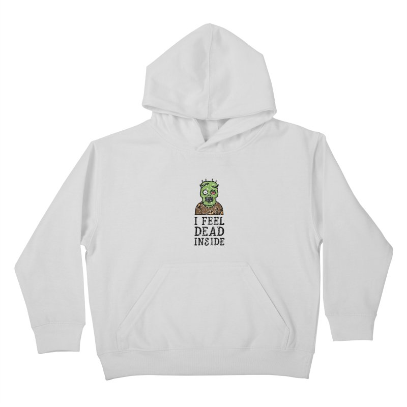 Dead inside Kids Pullover Hoody by ninthstreetdesign's Artist Shop