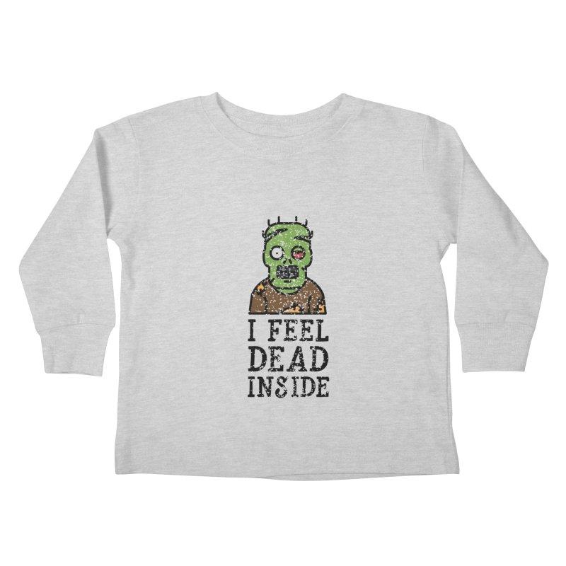 Dead inside Kids Toddler Longsleeve T-Shirt by ninthstreetdesign's Artist Shop