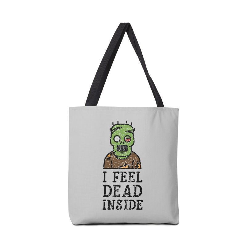 Dead inside Accessories Bag by ninthstreetdesign's Artist Shop