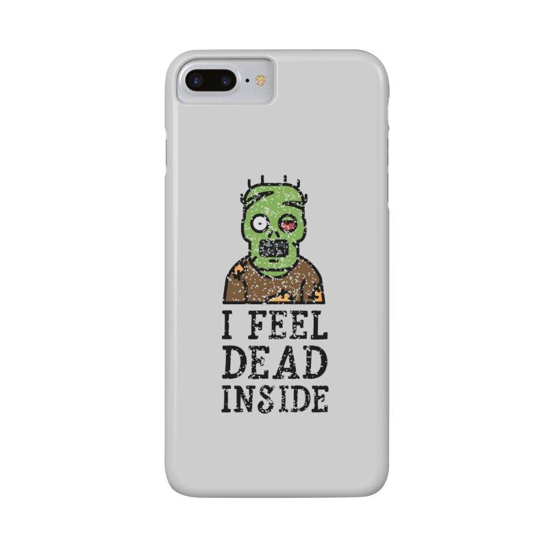 Dead inside Accessories Phone Case by ninthstreetdesign's Artist Shop
