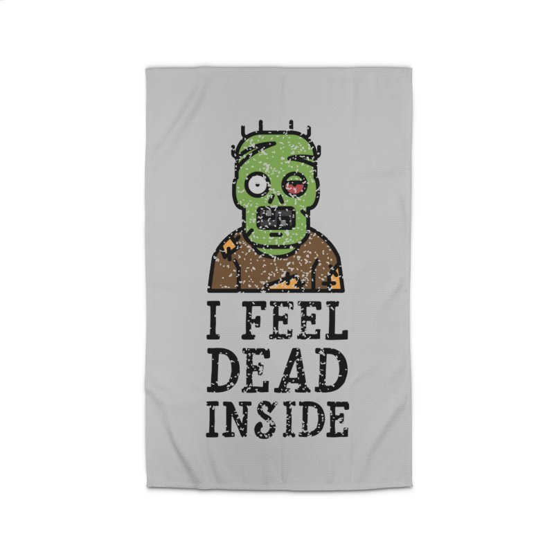 Dead inside Home Rug by ninthstreetdesign's Artist Shop
