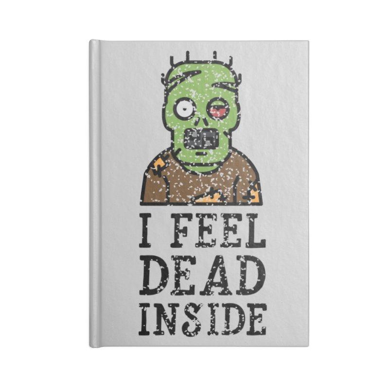 Dead inside Accessories Notebook by ninthstreetdesign's Artist Shop