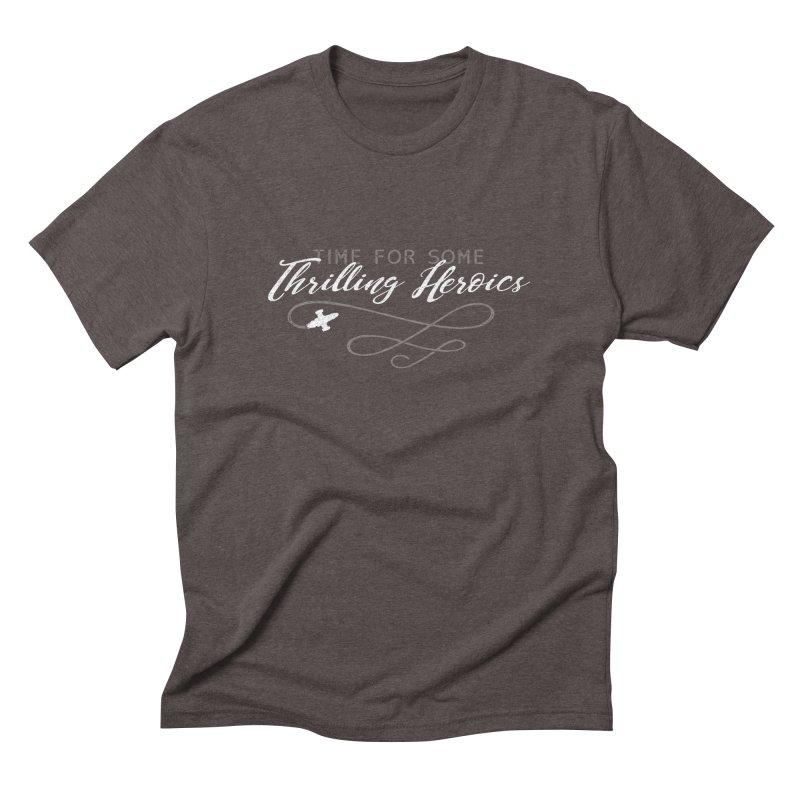 Thrilling Heroics Men's Triblend T-shirt by ninthstreetdesign's Artist Shop
