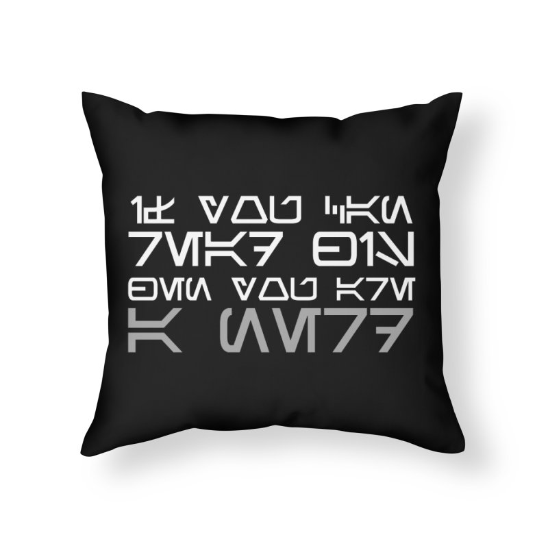 If you can read this, then you're a nerd Home Throw Pillow by ninthstreetdesign's Artist Shop