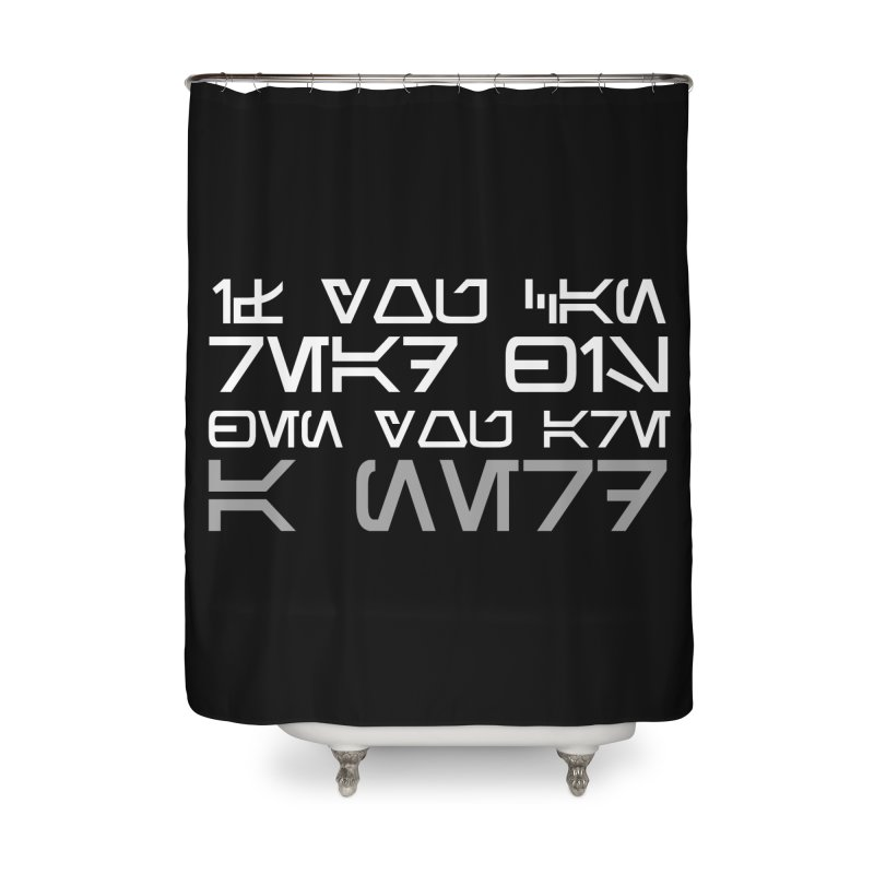 If you can read this, then you're a nerd Home Shower Curtain by ninthstreetdesign's Artist Shop