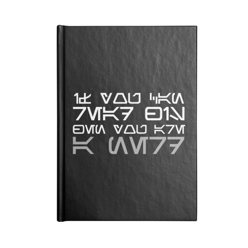 If you can read this, then you're a nerd Accessories Notebook by ninthstreetdesign's Artist Shop