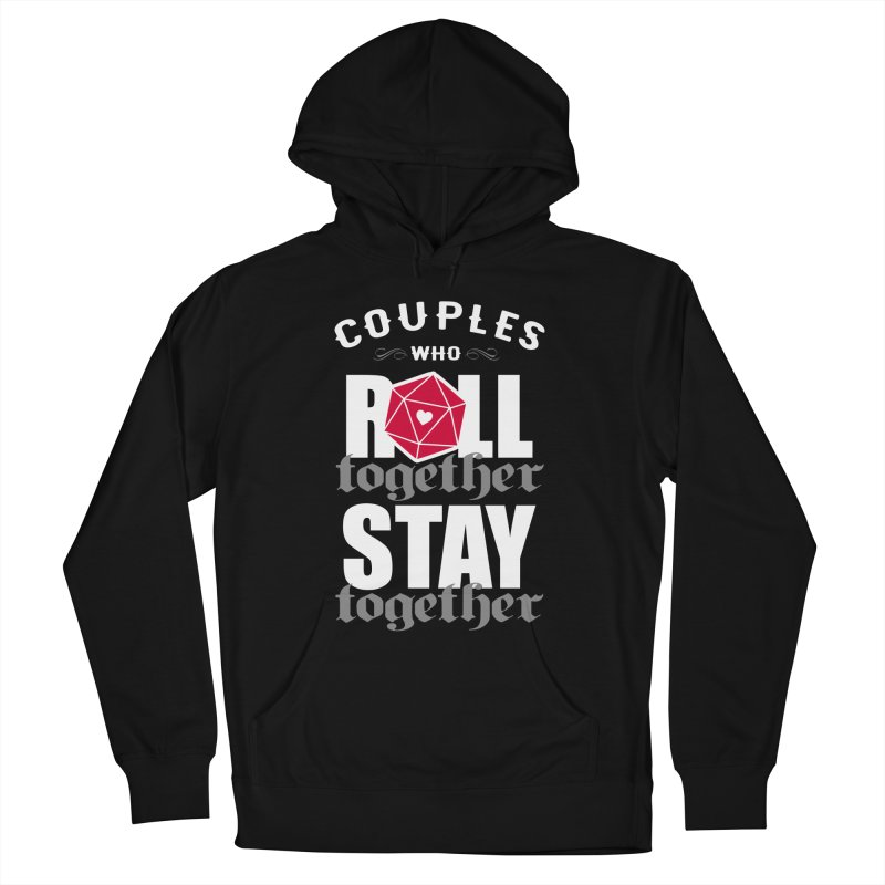 Couples who roll together Women's Pullover Hoody by ninthstreetdesign's Artist Shop