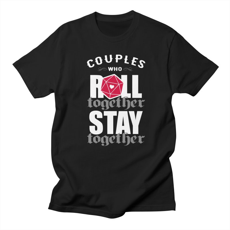 Couples who roll together Men's T-shirt by ninthstreetdesign's Artist Shop