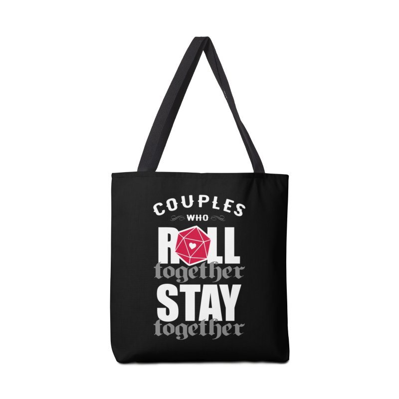 Couples who roll together Accessories Bag by ninthstreetdesign's Artist Shop