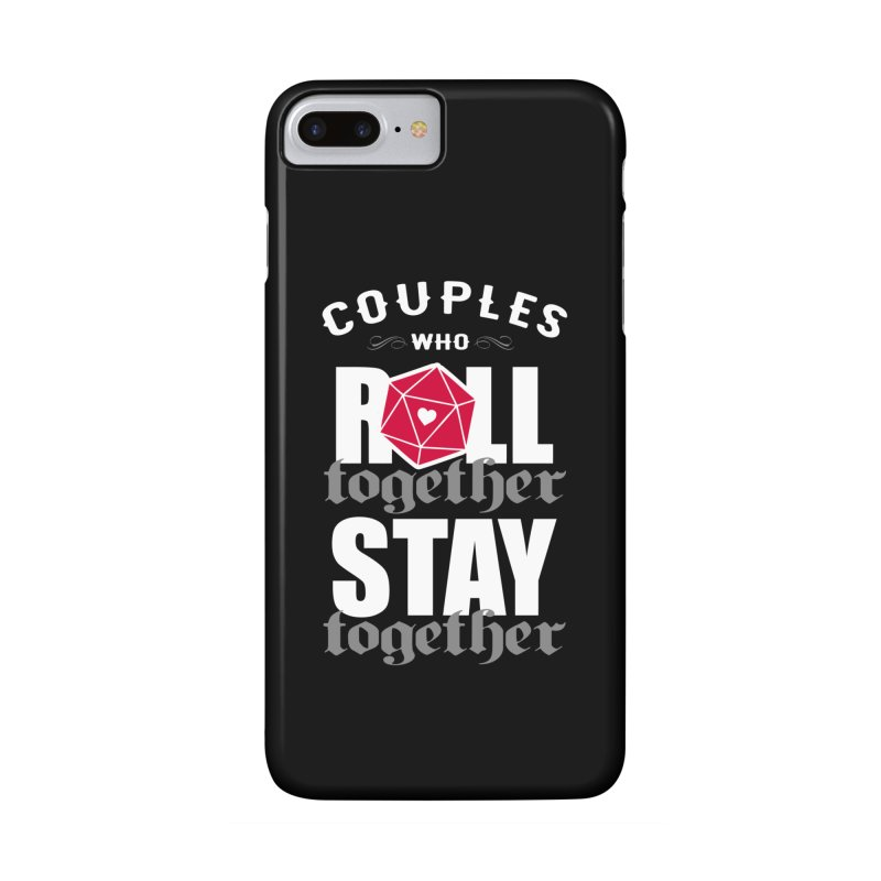 Couples who roll together Accessories Phone Case by ninthstreetdesign's Artist Shop
