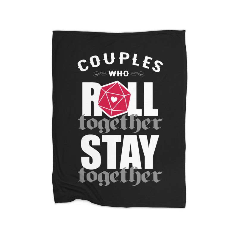 Couples who roll together Home Blanket by ninthstreetdesign's Artist Shop
